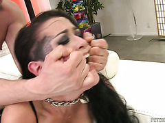 Brunette mistress with a phat ass Katrina Jade fucks her sub boy