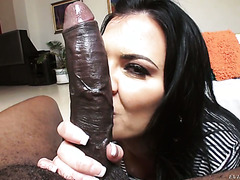 Bosomy UK MILF Jasmine Jae fearlessly takes BBC up her ass