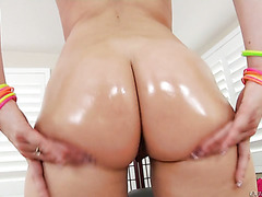 Kimber Woods shakes her big Latina ass and gets sodomized