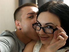 Russian anal princess Sheri Vi gets pounded in both holes just as she likes
