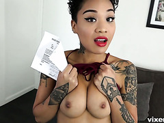 Sex is the only way Honey Gold can pay the rent to her landlord