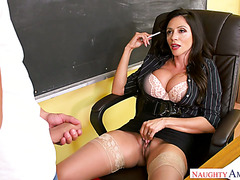 Professor Ariella Ferrera lets obsessed student to poke her