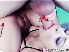 Freaky FFM threesome with Liza Del Sierra and Sharon Lee