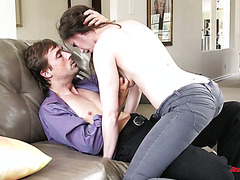 High quality after work sex with delectable babe Casey Calvert