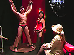 Asian Mistress shows English couple the pleasures of BDSM