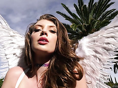 Angelic Elena Koshka takes a huge dick up her sweet Russian ass