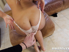 Blondie Fesser hypnotizes with her colossal booty in POV