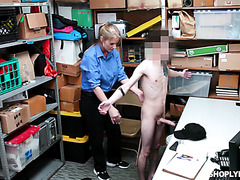 Strong mature woman Rachel Cavalli fucks young skinny boy