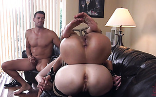 MILF slaves Marica Hase and Lauren Phillips get their asses punished