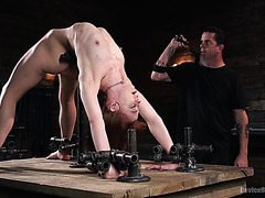 Alexa Nova is brutally tormented by her BDSM master