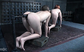 Ashley Lane and Lauren Phillips are turned into human kebab