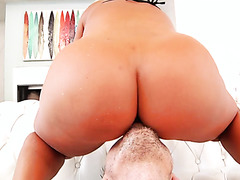 Brandi Bae twerks her PAWGtastic bimbo booty before wicked anal
