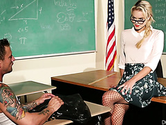 Baddest student in group fucks hot teacher Cosima Knight