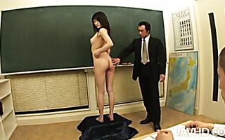 Curvy & Hairy JAV Ririka Suzuki wird gefickt und mit Sperma gefüllt