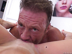 Candice Demellza, young ex model, is fucked super hard on casting