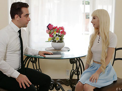 Kenzie Reeves, sinful teen, seduces innocent mormon boy to anal