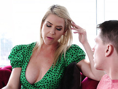 Kit Mercer - young boy makes stepMOTHER PREGNANT