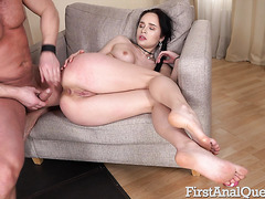 Hellish anal for Russian bubble ass of Juicy Leila