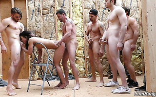 Black Teanna Trump gets oral banged and fucked by white fellas