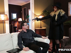 Russian secret agent Anna Polina fucks the enemy and changes her sides