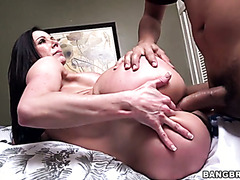 Nasty MILF Kendra Lust fucks young, juicy and strong cock