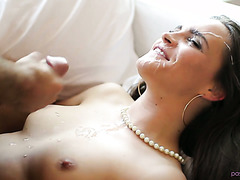 Luscious Teal Conrad wants to fuck her hubby's dick