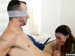 Alaina Dawson tricks sister's big cocked BF into fucking her