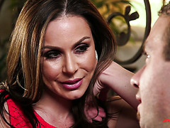Lustful stepmom Kendra Lust satisfies stepson's secret desires